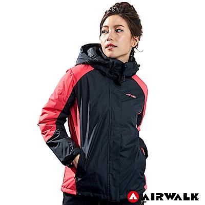 【AIRWALK】女款舖棉連帽外套-共兩色