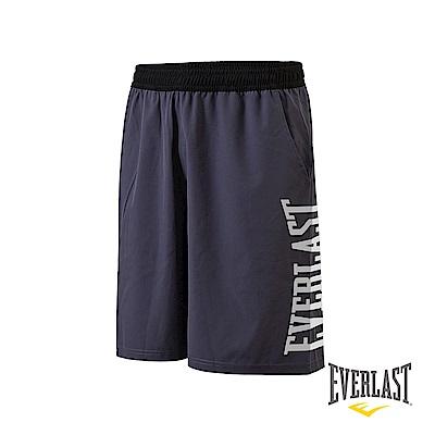 EVERLAST 機能運動短褲-男-深灰
