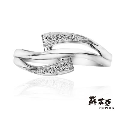 蘇菲亞 SOPHIA - 蘿葳18K鑽石戒指