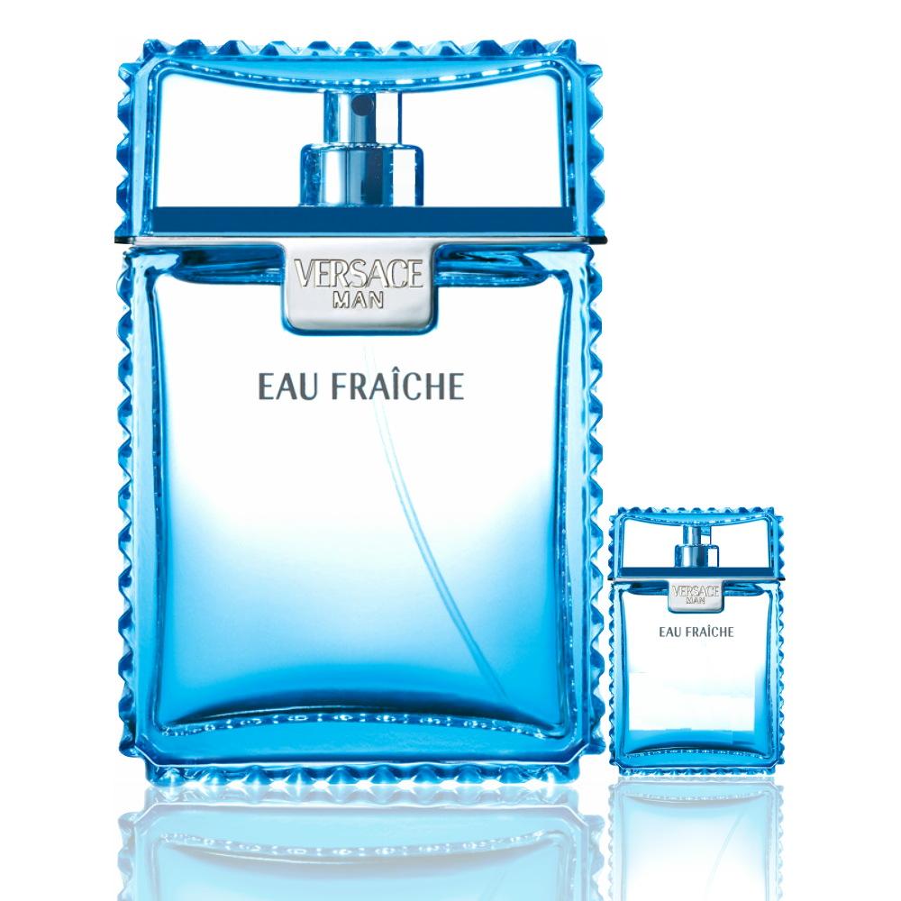 Versace Eau Fraiche 雲淡風輕淡香水100ml 搭贈同款 5ml