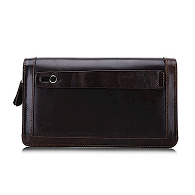 米蘭精品 手拿包真皮包包-大容量多功能休閒時尚男皮件情人節生日禮物73lu4
