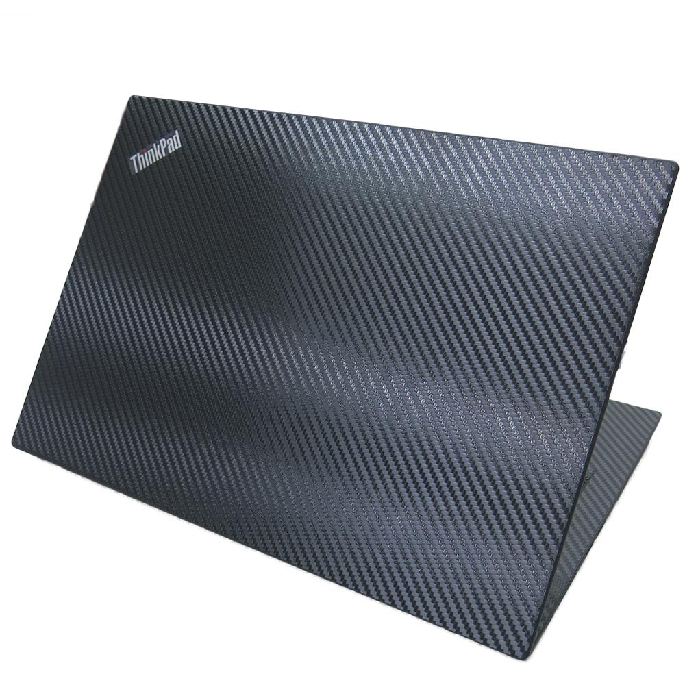 EZstick Lenovo ThinkPad T495 黑色立體紋機身貼