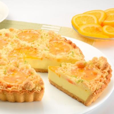 亞尼克派塔 橙香起司酥波蘿6吋