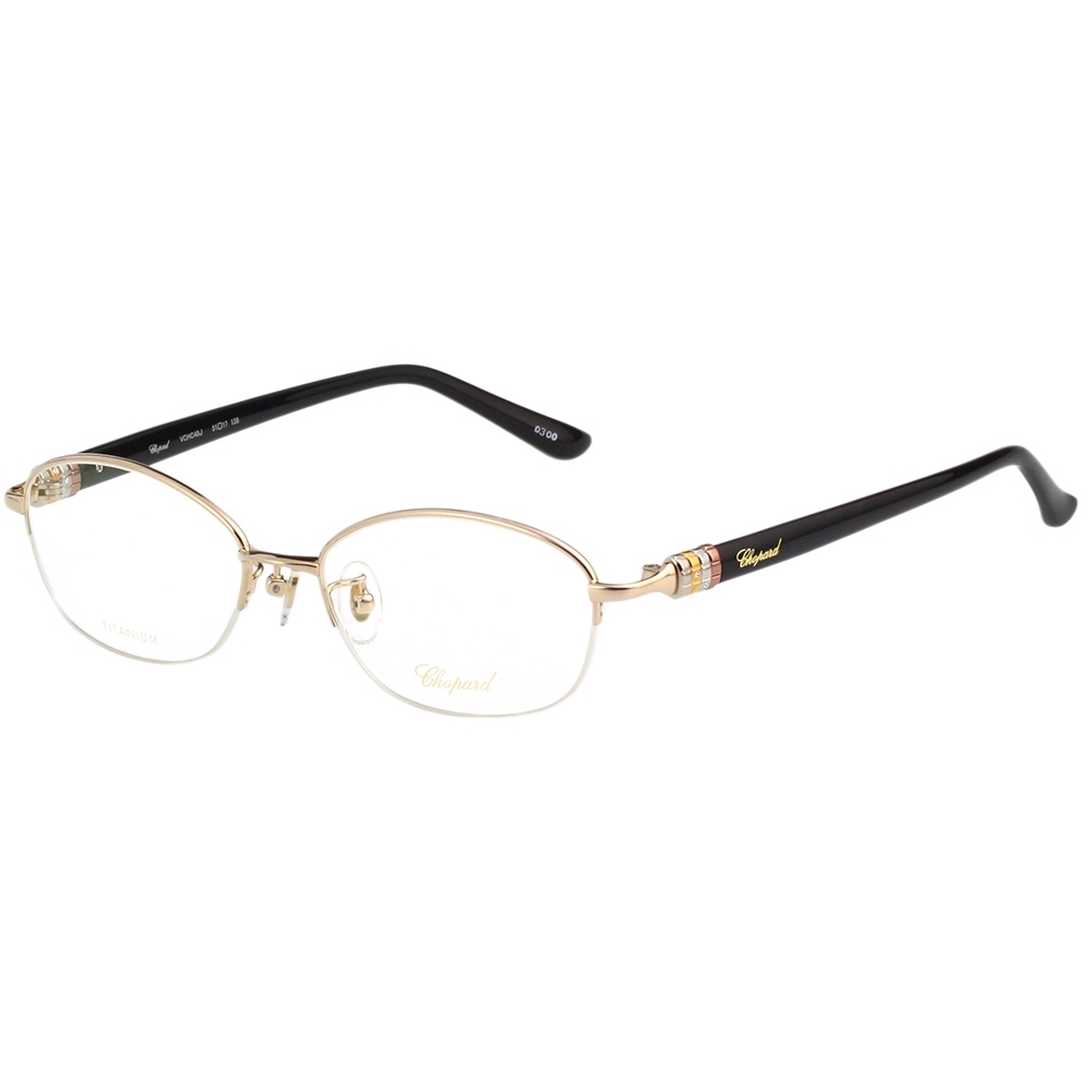 Chopard 純鈦 光學眼鏡(金色)VCHC48J