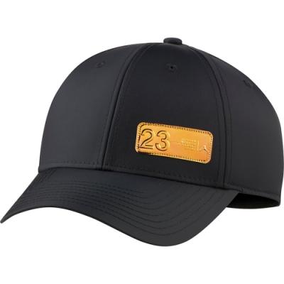 NIKE 帽子 棒球帽 老帽 遮陽帽 休閒  黑金 DC3678010 JORDAN L91 23ENG CAP