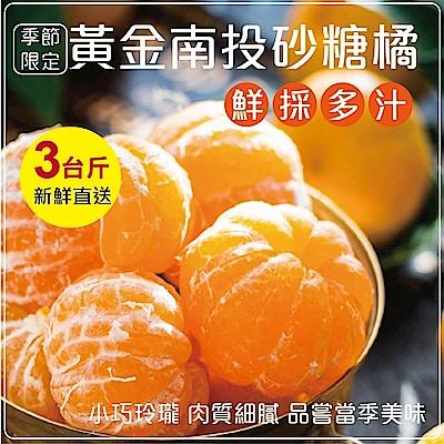 【天天果園】南投高山超迷你砂糖橘禮盒 x3斤