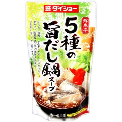 第一 鮮魚亭海鮮火鍋湯底(750g)