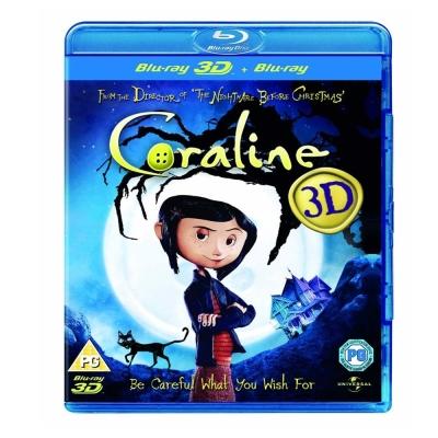 第十四道門 Coraline (3D/2D)  藍光 BD