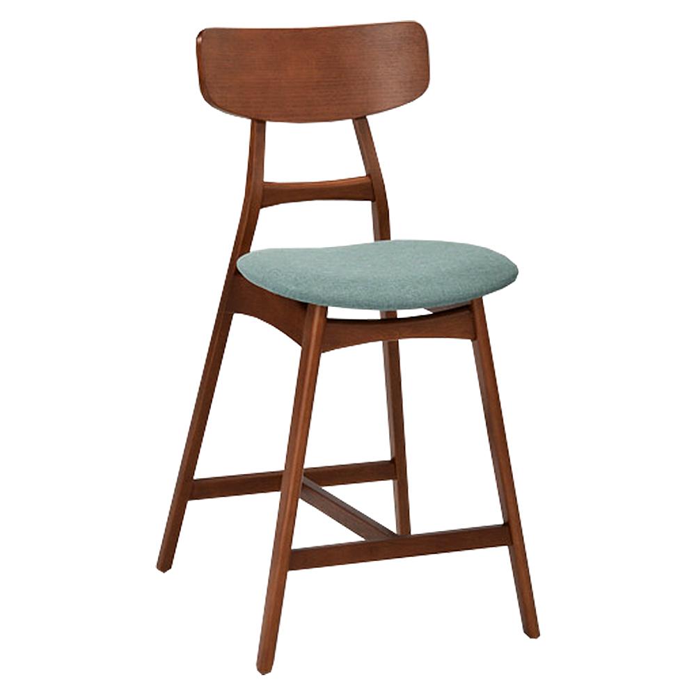 AS-Gemma實木中吧抬椅-48x54.5x94cm(二色可選)