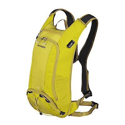 【SHIMANO】UNZEN 10L 自行車背包 橄欖暖黃