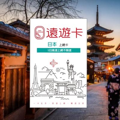 【遠遊卡】遠傳電信 原廠供貨 日本5日 softbank 高速上網吃到飽 現貨