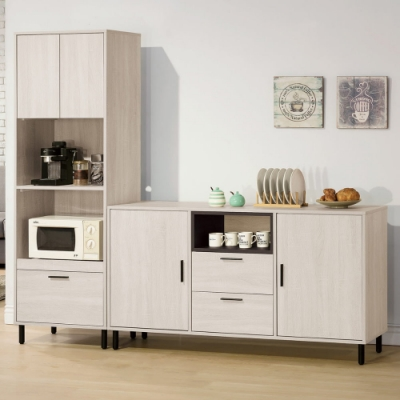 MUNA 柏納德5尺餐櫃(不含2尺收納櫃) 151X40X82cm