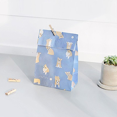 ICONIC 心屬於你-禮物袋組(12入)Ver2-柯基犬寶寶