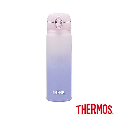 THERMOS膳魔師不鏽鋼真空保溫瓶0.5L(JNL-500)-GPL(淡粉薰衣紫)