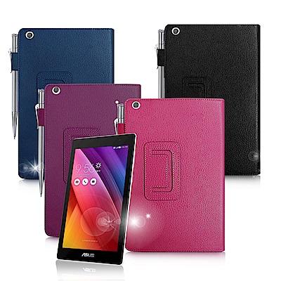 ASUS ZenPad 10 Z300C Z300CL經典商務書本式支架保護套