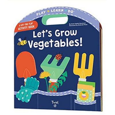 Let s Grow Vegetables 一起來種菜手提操作書