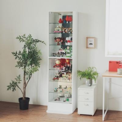 Home Feeling 鏡面展示櫃/收納櫃/玻璃櫃/酒櫃/180cm(2色)