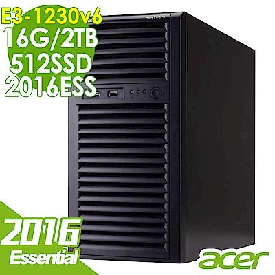 Acer T110F4 E3-1230v6/16G/2T+512/2016ESS