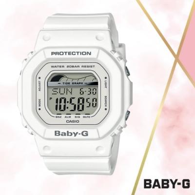 CASIO卡西歐 BABY-G街頭時尚電子錶(BLX-560-7D)白色/45mm