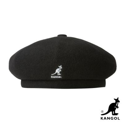 KANGOL-WOOL JAX貝蕾帽-黑色