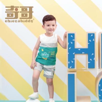 奇哥 仙人掌字母背心 (3-5歲)