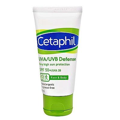 Cetaphil舒特膚 極緻全護低敏防曬霜SPF50 /UVA28 50ml