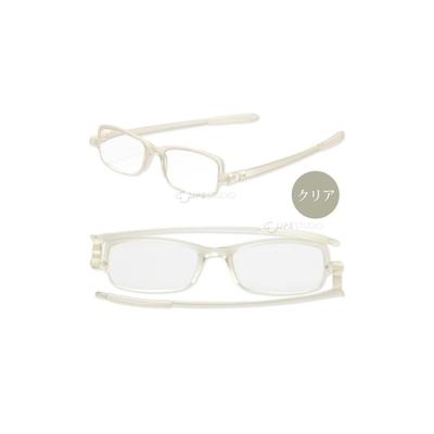 日本 I.L.K. 依康達 Flat glass 日本時尚薄型摺疊老花眼鏡 共5色