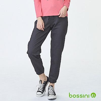 bossini女裝-厚刷毛束口棉褲01灰