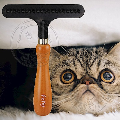 DYY》犬貓用寵物美容除毛梳/釘耙梳(長15cm*寬11cm)