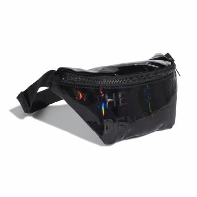 adidas 腰包 Original Waist Bag 男女款 愛迪達 斜背 外出 輕便 亮面 小包 黑  GD1661
