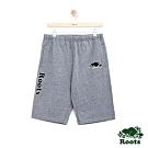 男裝Roots 經典棉質短褲-灰色