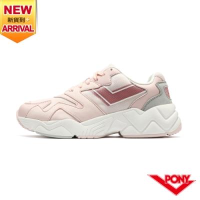 【PONY】MODERN 2 電光鞋 復古慢跑鞋 女鞋-粉