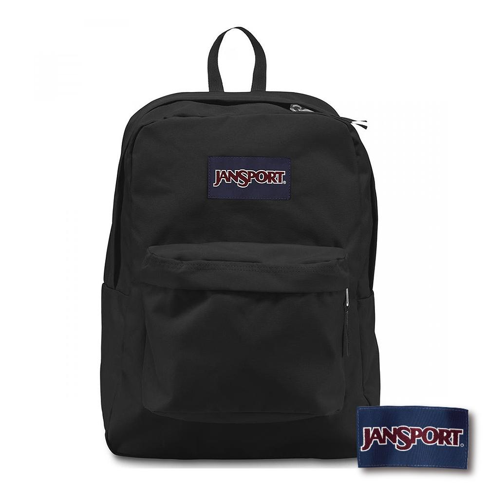 JanSport - SUPERBREAK 系列後背包 -黑