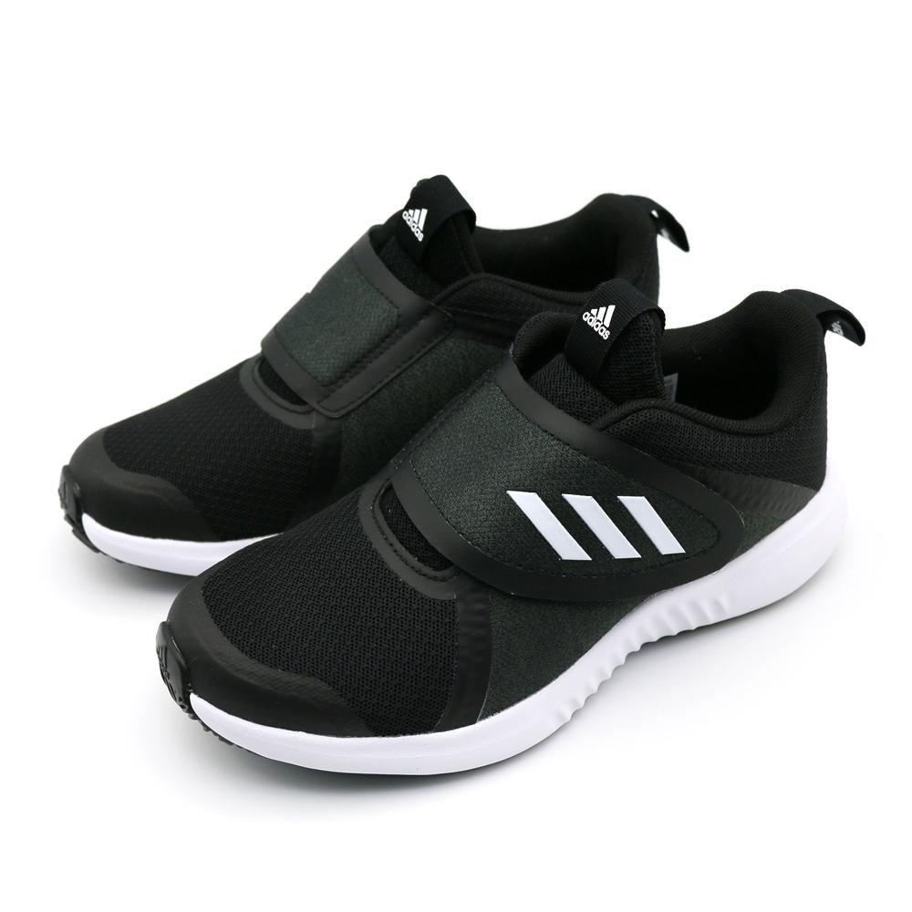 ADIDAS FortaRun X CF K 中大童 黑 跑步鞋