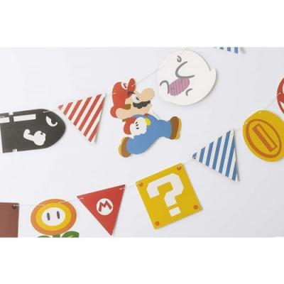 周邊 超級瑪利歐 Home&Party 拉旗(角色&道具)