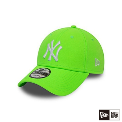 NEW ERA 940 LEAGUE ESSENTIAL 洋基 螢光綠 棒球帽