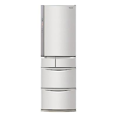 [館長推薦] Panasonic國際牌 411公升五門變頻冰箱 NR-E414VT-N1香檳金