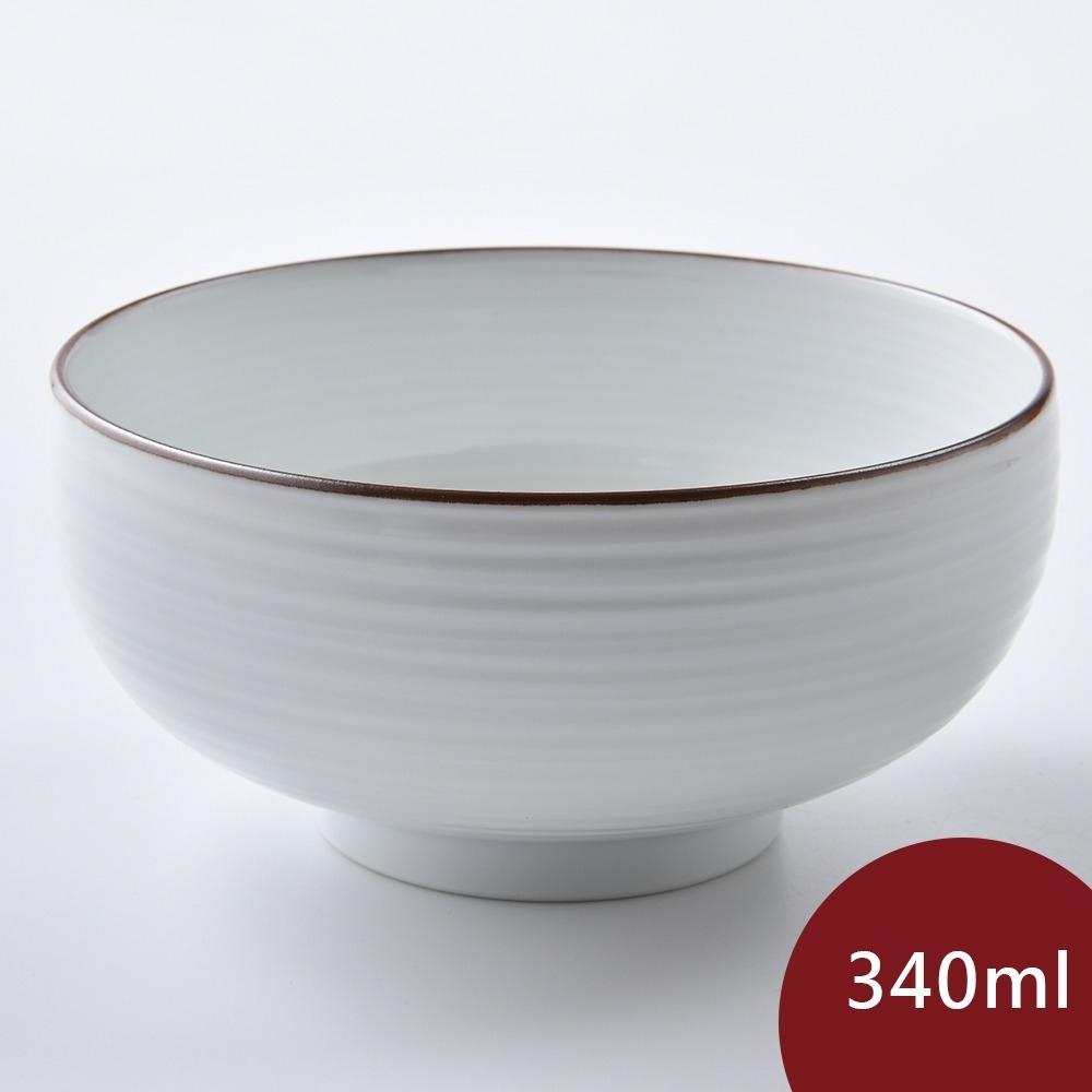 Hakusan 白山陶 飯碗 白磁 340ml