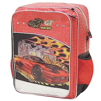 【MAXPERO】火焰跑車15吋後背書包 (MGT055) -歐系後背包