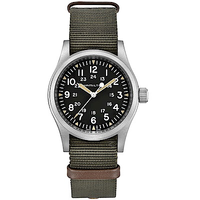 Hamilton漢米爾頓卡其野戰系列軍事腕錶  H69439931