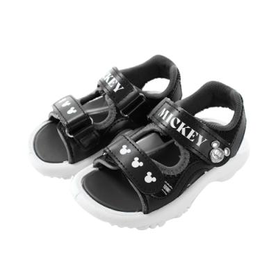 魔法Baby 男童鞋 台灣製迪士尼米奇正版休閒運動涼鞋 sd3188