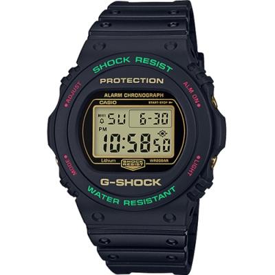 G-SHOCK 翻玩經典運動錶(DW-5700TH-1)