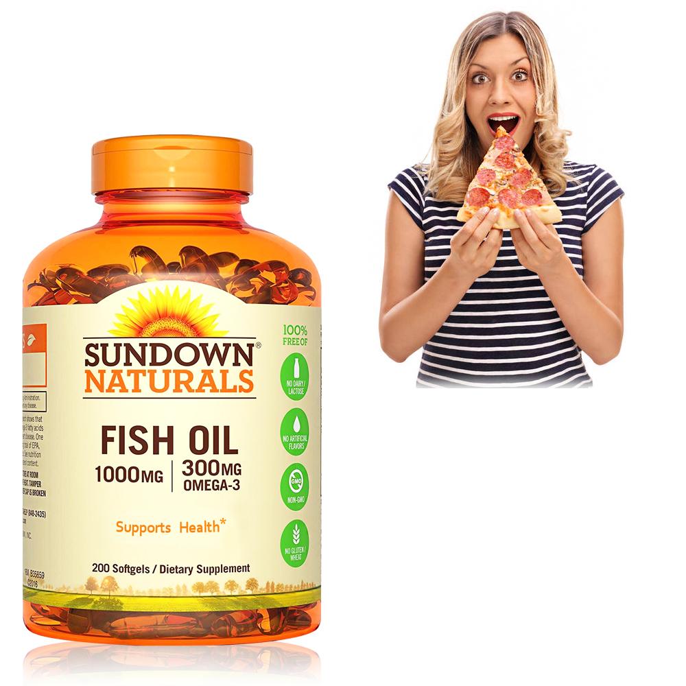(時時樂)Sundown日落恩賜 高單位精純魚油(200粒/瓶)