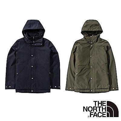【The North Face】YAHOO限時優惠-防水透氣三合一衝鋒衣外套(2款任選)
