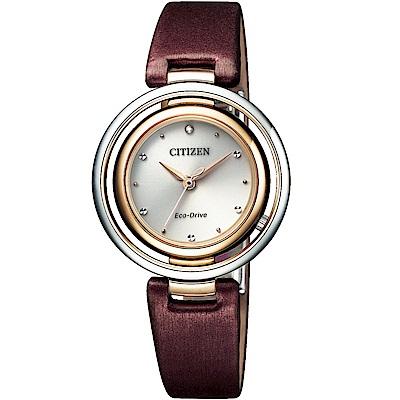 CITIZEN星辰L系列經典饗宴時尚腕錶(EM0669-13X)
