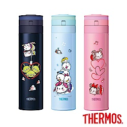THERMOS膳魔師TsumTsum超輕量保溫瓶0.45L(JNS-450TT)