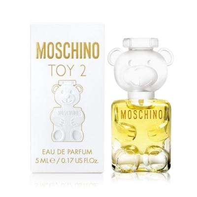 MOSCHINO 莫斯奇諾 熊芯未泯2女性迷你淡香精 Toy2 5ml