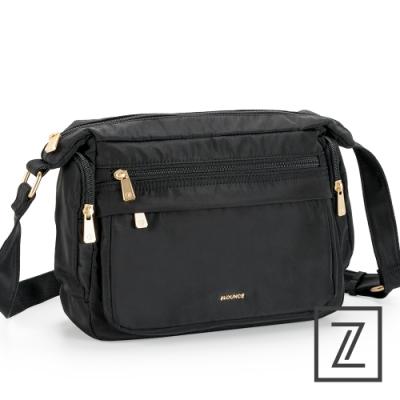 74盎司 HERA 多口袋斜背包[LG-935-HE-W]黑
