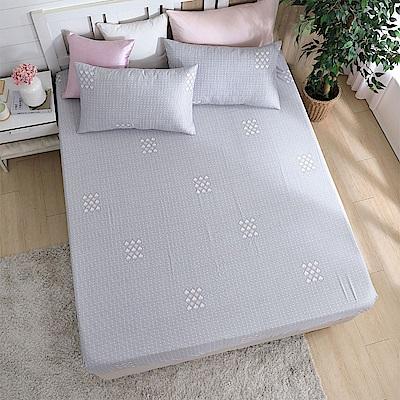 岱思夢加大天絲床包枕套三件組(3M專利吸濕排汗技術)西芙