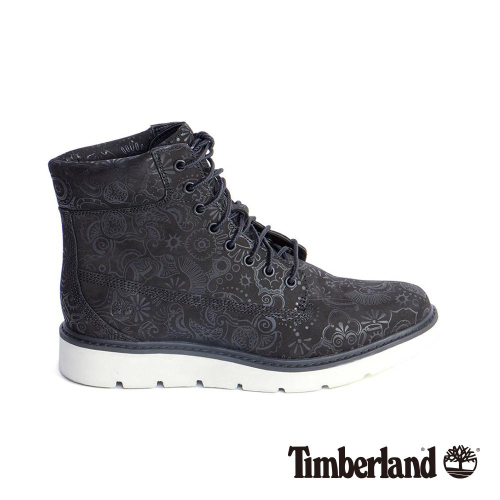 Timberland 女款黑色印花皮革6吋靴|A1NBZ @ Y!購物